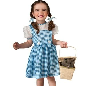 Wizard Of Oz Rubies #11812 Dorothy Dress And Hair